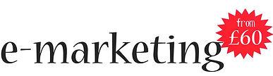 e-marketing from £60