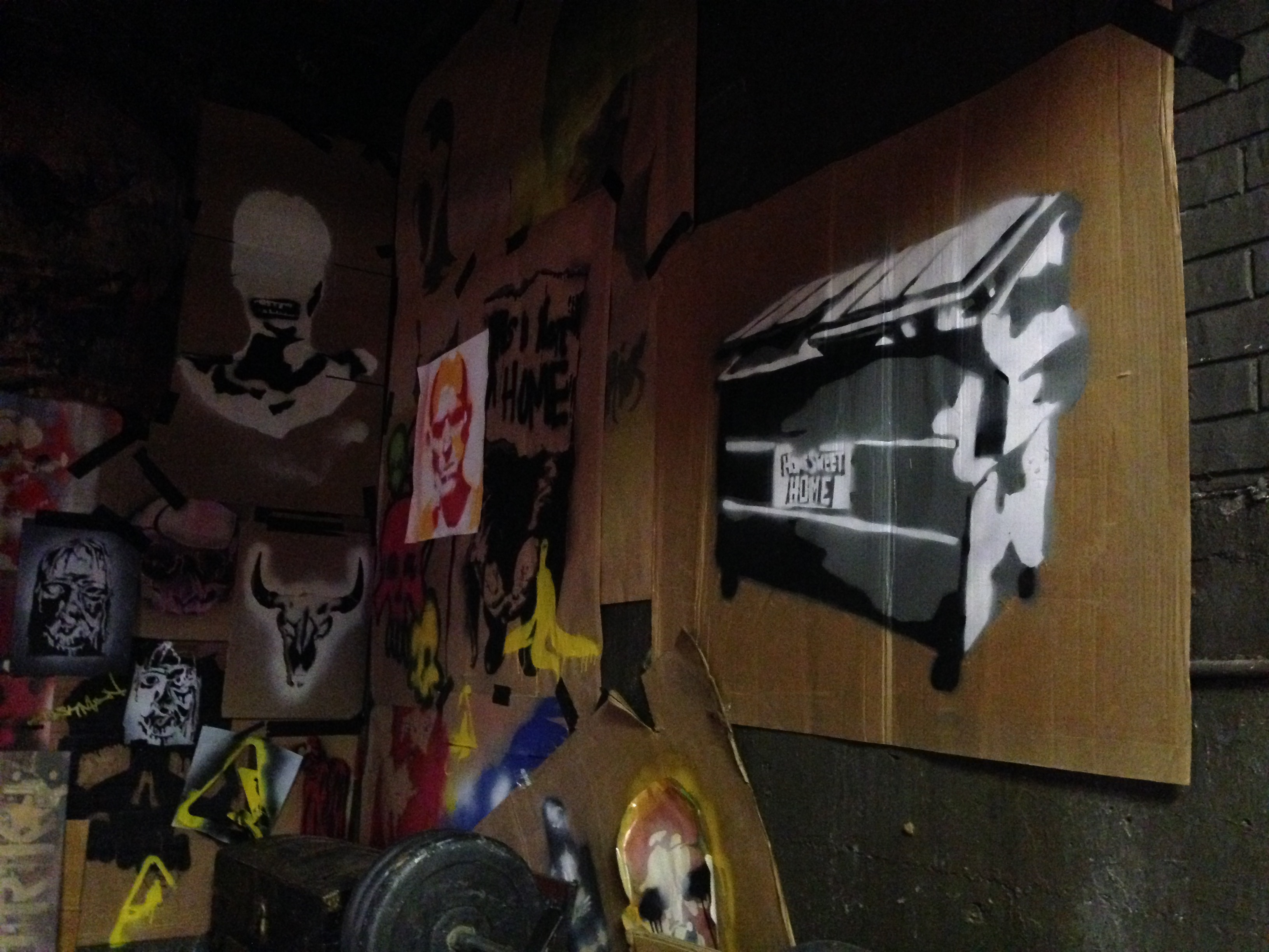 Graffiti Artist's Studio