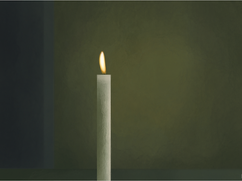 'Lit Candle'