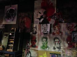 Graffiti Artist's Studio