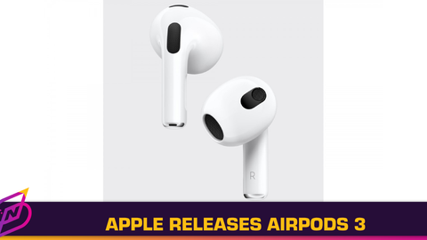 Apple Releases Third Generation of AirPods; Priced at RM829