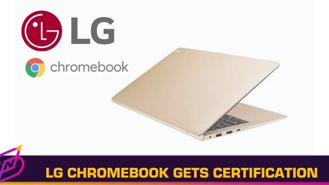 LG Chromebook Receives Bluetooth SIG Certification