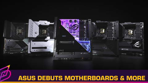 ASUS Launches New Motherboards, PSUs, Monitors, and Others