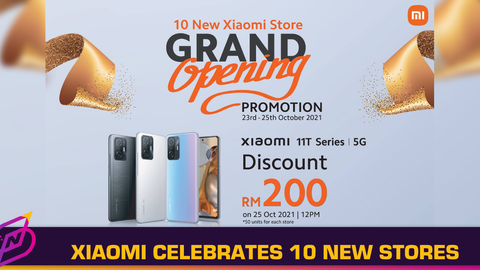 Xiaomi Celebrates Grand Opening of 10 New Stores with Exclusive Promotions