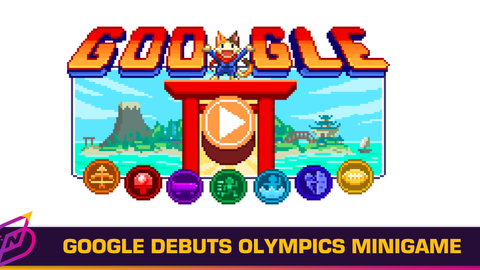 Google Launches 16-bit Doodle Champion Island Games in Conjunction with the Tokyo Olympics