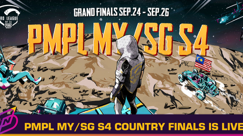 PUBG Mobile Pro League MY/SG Season 4 Country Finals Starts Today