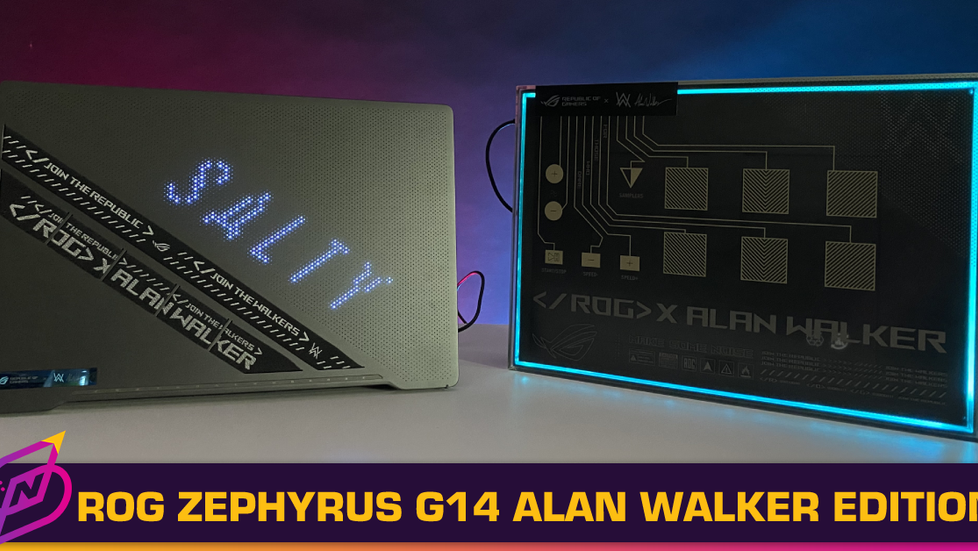 [Review] Join the Walkers: The ROG Zephyrus G14 Alan Walker Special Edition