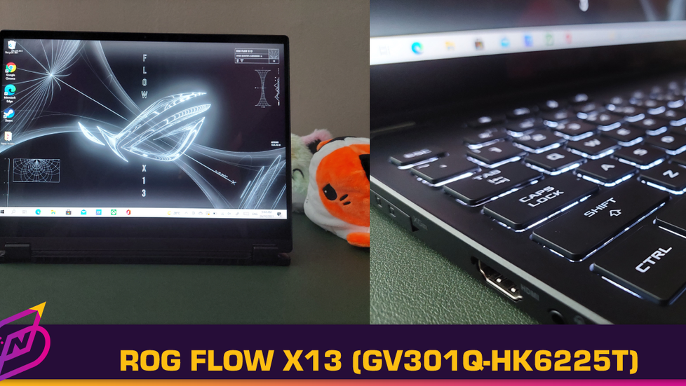 [Review] A 2-in-1 Gaming Laptop: The ROG Flow X13 (GV301Q-HK6225T)