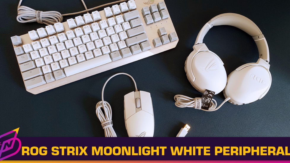[Review] Minimalistic White: The ROG Moonlight White Series Peripherals