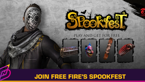 Celebrate Halloween with Free Fire's Spookfest