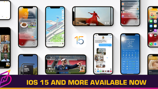 Apple Rolls Out iOS 15, iPadOS 15, watchOS 8, and tvOS 15
