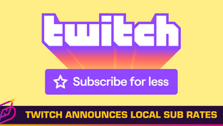 Twitch Introduces New Local Subscription Pricing