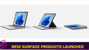Microsoft Launches Surface Laptop Studio, Surface Pro 8, Surface Duo 2, and More