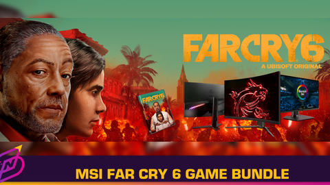 Explore Yara in Far Cry 6 with MSI's Gaming System and Monitors