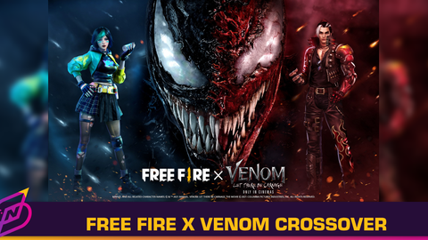 Garena Announces Free Fire's First-Ever Movie Crossover with Venom: Let There Be Carnage