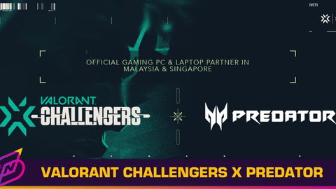 VALORANT Challengers Malaysia and Singapore Partners with Predator