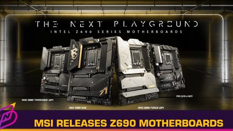 MSI Releases New Z690 Motherboards