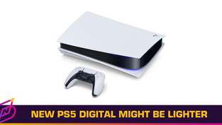 Sony's New PS5 Digital Edition Might Be 300 Grams Lighter