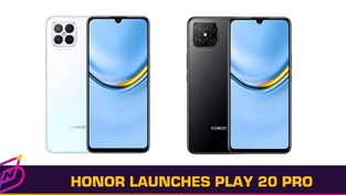HONOR Launches Play 20 Pro with an OLED Display