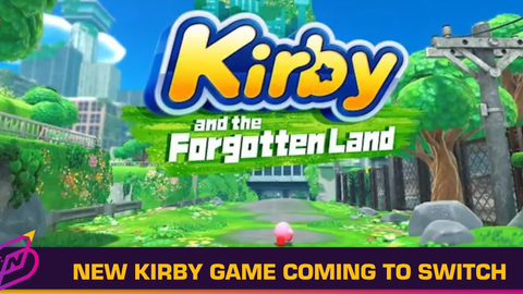 Kirby and the Forgotten Land Is Coming to Switch in Spring 2022