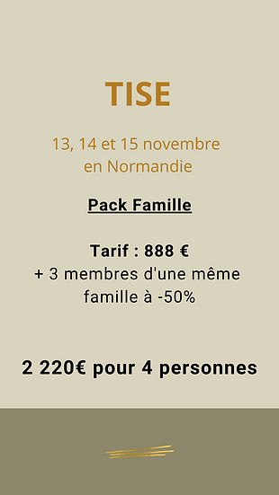 Pack Famille - 4 personnes