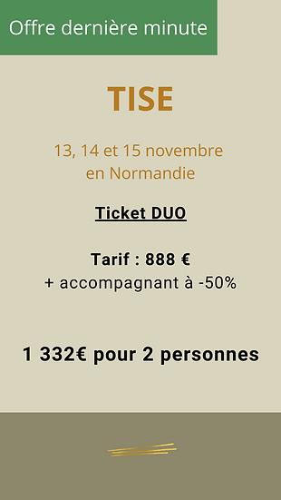 Ticket DUO - 2 personnes