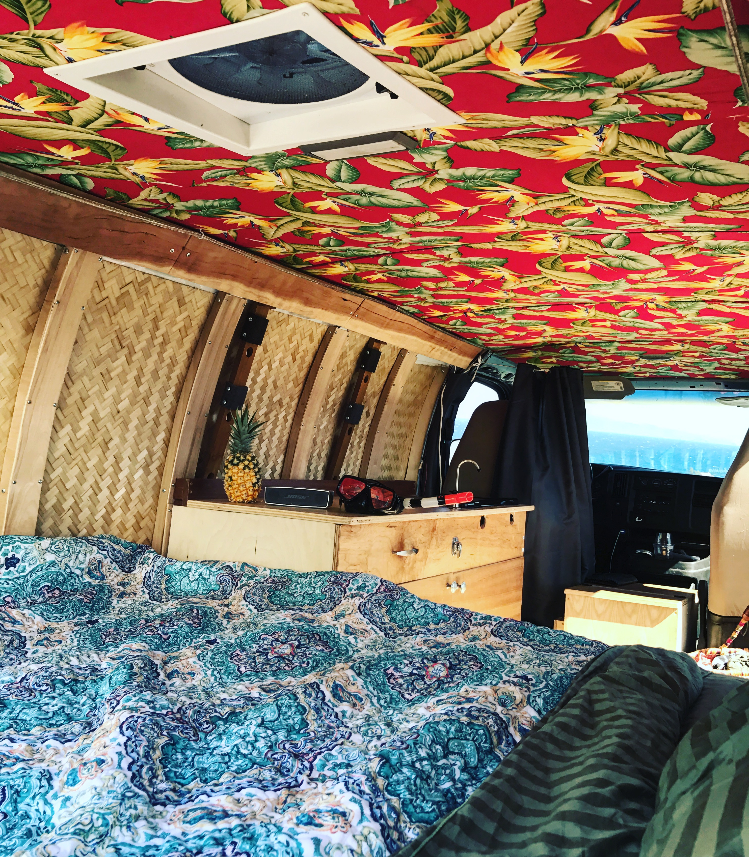 """Discovery"" Camper Van Interior"