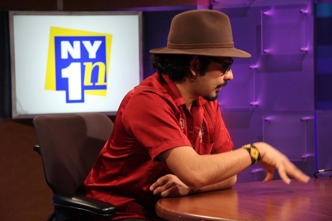 Sinuhé en NY1News