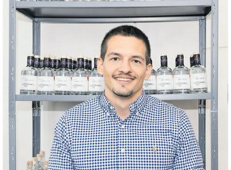 St. Galler Tagblatt: Biber in der Ginflasche