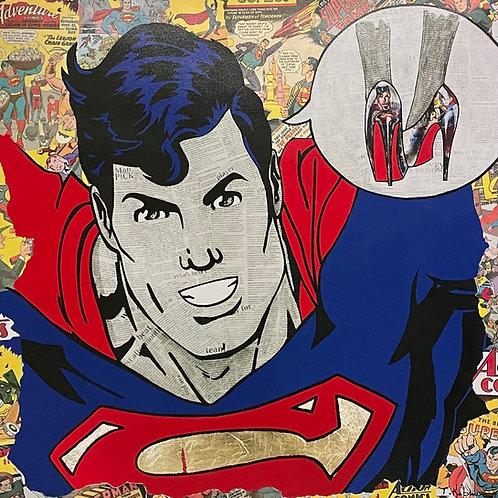"""Superman"" Limited Edition Fine Art Print on Canvas"