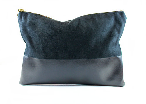 NOIR BLACK CLUTCH