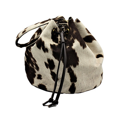 THE PERFECT SPOTTED BUCKET BAG