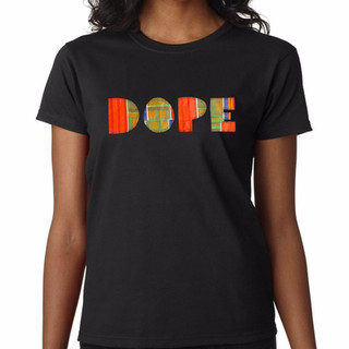 Womans-Black-T-Shirt DOPE_edited.jpg