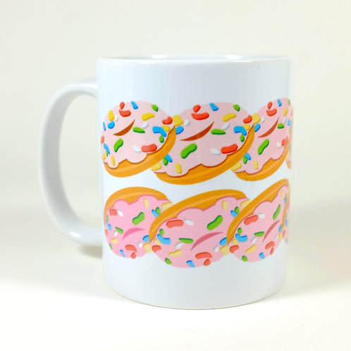 11oz Mug - Donut Color Fade