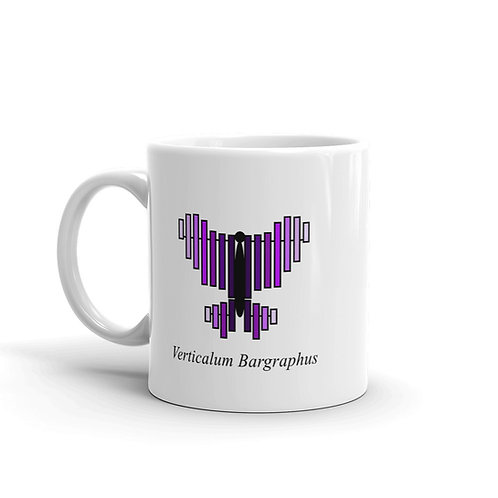 Datavizbutterfly - Verticalum Bargraphus - Mug