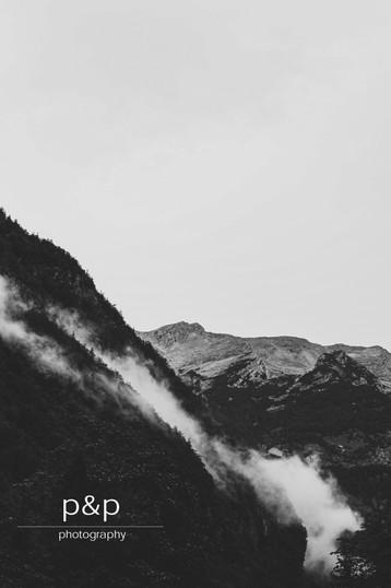der fallende Nebel