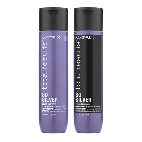 So Silver Shampoo for Blondes Duo
