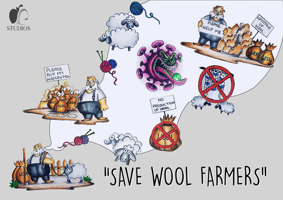 Supporting Woolen farmers