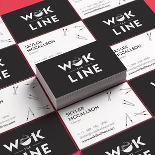 WOK THE LINE