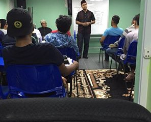 Outreaching session at Tentera Mosque