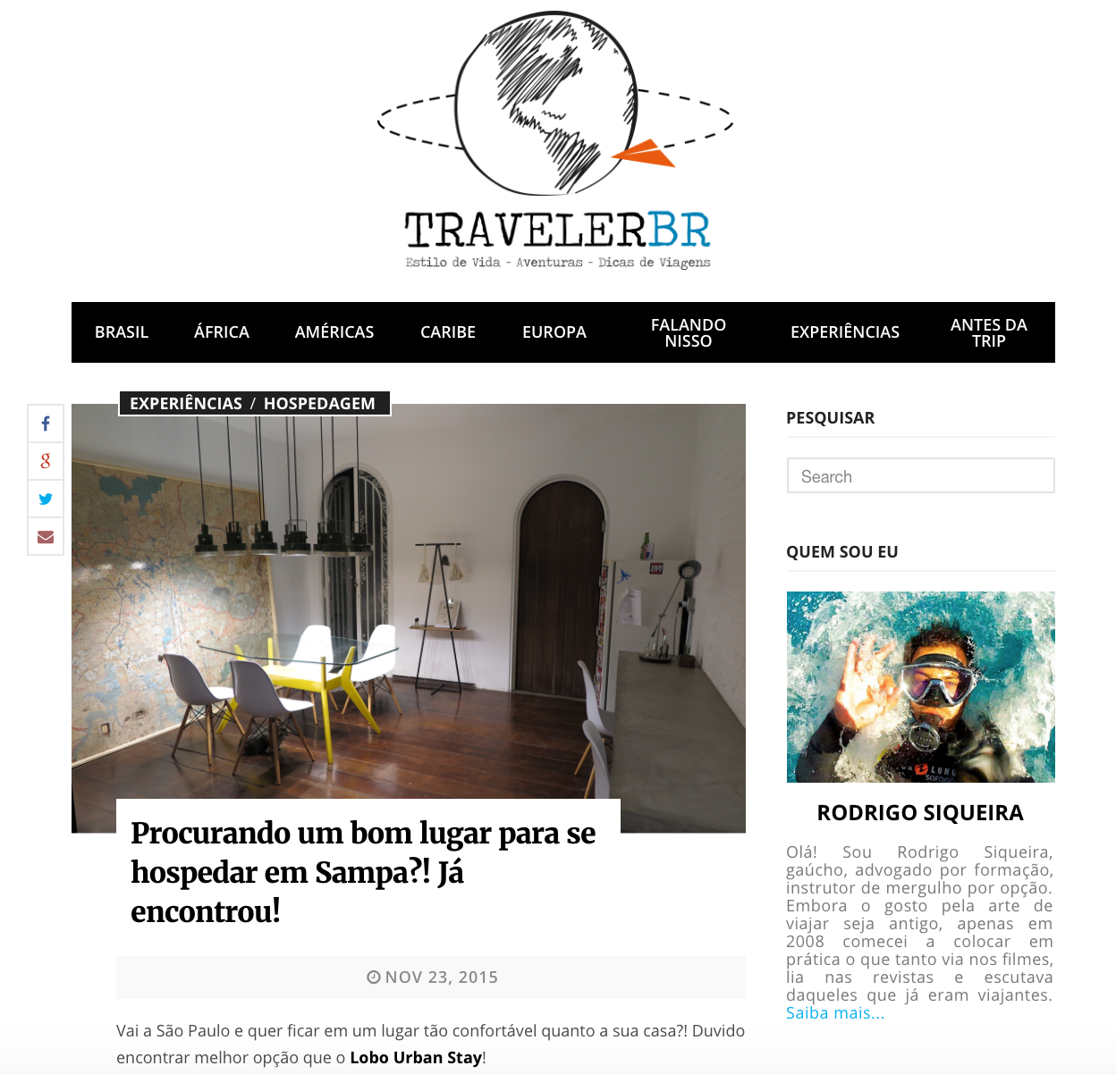 BLOG TRAVELERBR