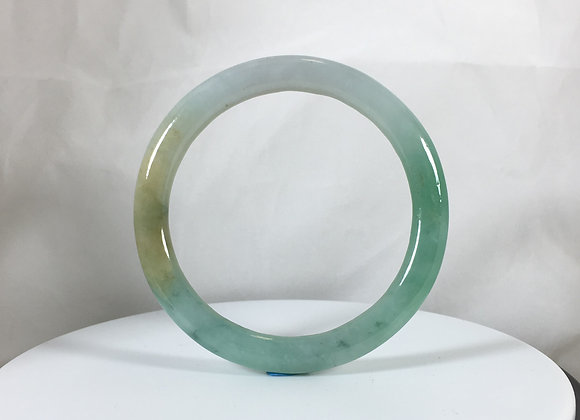 Jade Bangle, Certified Natural