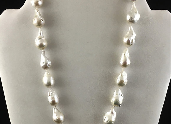 Baroque Fresh Water Cultured Pearl Necklace