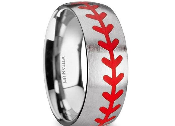 Tungsten Baseball Ring