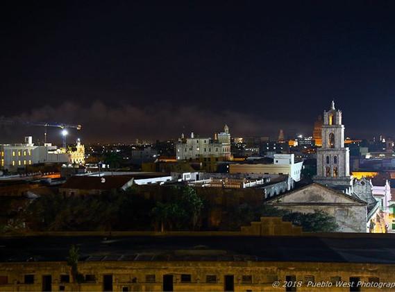 Nightfall on Havana