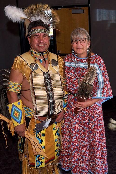 Native American Dancers, Pueblo Library