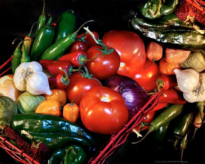 Veggies in a basket 2