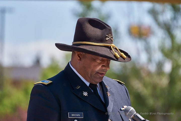 Ray Brown, Memorial Day, Pueblo