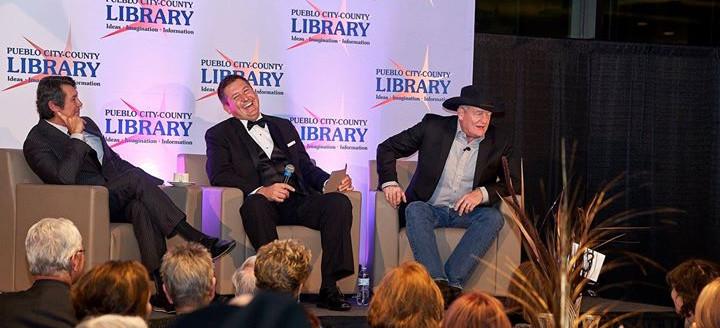 Lou Diamond Phillips & Craig Johnson PCCLD Booklovers Blacktie Ball