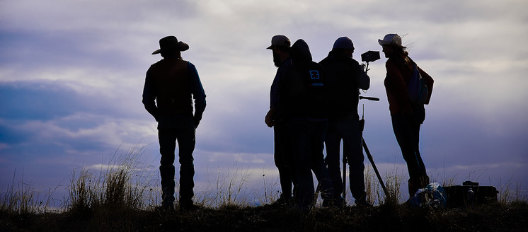 Filming of  Custer's Strategy of Defeat